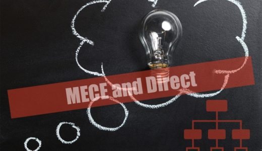MECE感 x ダイレクト感な枠組みの例
